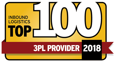 Inbound Logistics Top 100 Third-Party Logistics Provider for 2018